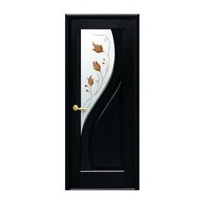 Двері міжкімнатні Новий Стиль МАЕСТРА Прима зі склом 700х2000 мм венге
