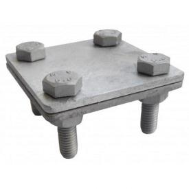 Затискач гарячооцинкований смуга/смуга 30 мм