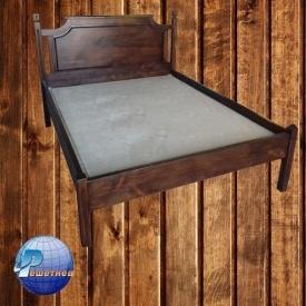 Дерев'яне ліжко з сосни 2000x1600 мм