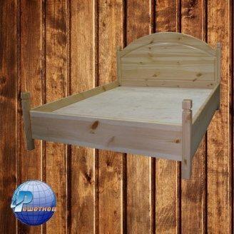 Ліжко дерев'яна 200х160 см сосна