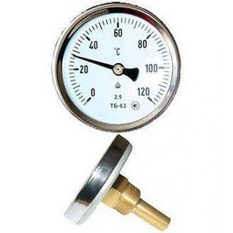 Термометр для твердопаливного котла БЕЗ ГІЛЬЗИ