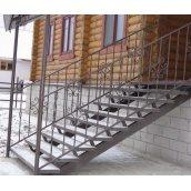 Изготовление ограждения для лестницы по варианту №2