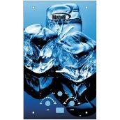 Газовий проточний водонагрівач Martix 20 кВт 10 л/хв принт лід скло