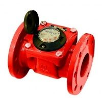 Счетчик горячей воды PoWoGaz MWN-130-50 турбинный DN50 200 мм