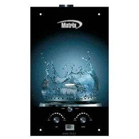 Газовый проточный водонагреватель Martix 20 кВт 10 л/мин принт вода стекло