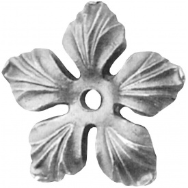 Цветок металлический 90х3 мм (14.087.32)