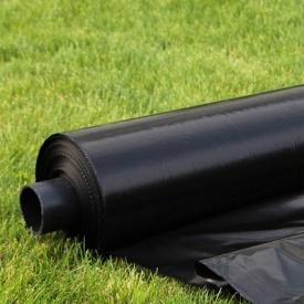 Черная стабилизирована пленка 100 мкм 6 м