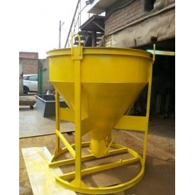 Бадья для раствора от производителя 1,5 куба 1530 мм