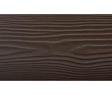 Фиброцементная доска CEDRAL Lap C21 3600х190х10 мм коричневая глина