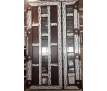 Двері металопластикові вхідні 1200х2050 мм