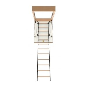 Горищні сходи Bukwood Luxe Metal Mini 90х90 см