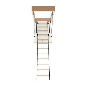Горищні сходи Bukwood Luxe Metal Mini 100х80 см
