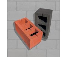 Блок строительный цветной 19х19х39 см