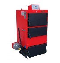 Котел твердотопливный RODA RK3G-80 93 кВт 1470x1130x770 мм красный
