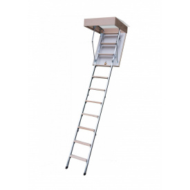 Горищні сходи Bukwood Compact Metal 110х90 см
