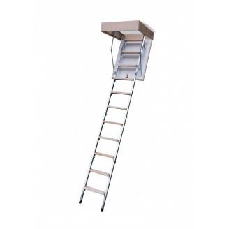Горищні сходи Bukwood Compact Metal 80х80 см