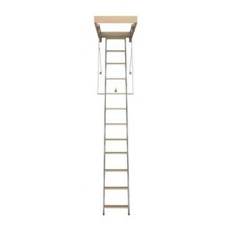 Горищні сходи Bukwood Compact Metal Mini 90х80 см