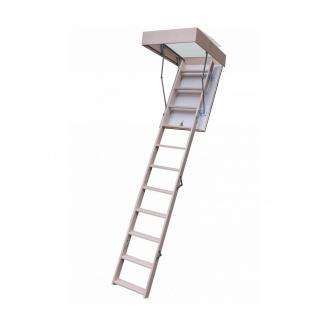 Чердачная лестница Bukwood Compact Long 120х70 см