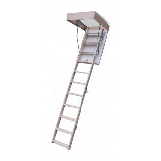 Чердачная лестница Bukwood Compact Mini 90х90 см