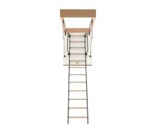 Чердачная лестница Bukwood Luxe Metal Mini 100х80 см