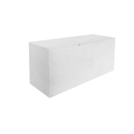 Лицевой силикатный камень полнотелый М-150 250х88х250 мм