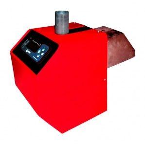 Пальник пелетний RODA RPB-50s 50 кВт 295х252х390 мм червоний