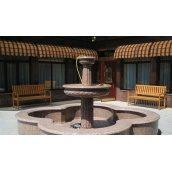 Изготовление фонтана из гранита