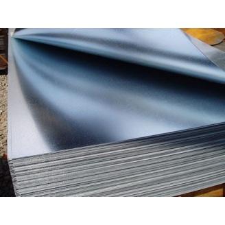 Лист стальной оцинкованный 1000х2000х2 мм