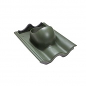 Проходной элемент VILPE TIILI 440х330 мм зеленый