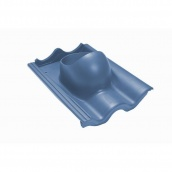 Проходной элемент VILPE TIILI 440х330 мм синий
