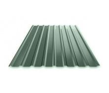 Профнастил Ruukki Т15 Pural Matt фасадний 13,5 мм темно-зелений