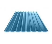 Профнастил Ruukki Т15 Polyester фасадний 13,5 мм синій