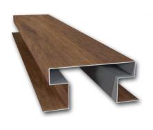 Планка стикувальна Suntile Дошка об'ємна Н-подібна для металосайдингу 2000 мм