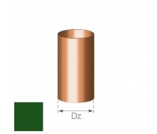 Труба Gamrat 90 мм 3 м зеленая