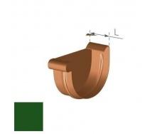 Заглушка левая Gamrat 125 мм зеленая