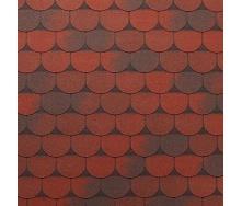 Бітумна черепиця Tegola Super Traditional 1000х340 мм червоний граніт