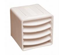 Вентиляционный куб VILPE 85х85х85 мм бежевый