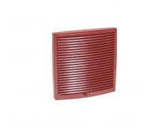 Зовнішня вентиляційна решітка VILPE 240х240 мм червона