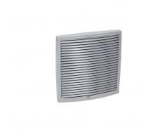 Зовнішня вентиляційна решітка VILPE 240х240 мм світло-сіра