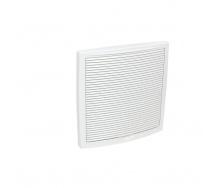 Зовнішня вентиляційна решітка VILPE 375х375 мм біла