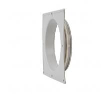 Фланець вентиляційної решітки VILPE 160 мм світло-сірий