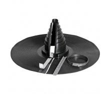 Уплотнитель VILPE R-FELT 100 мм черный