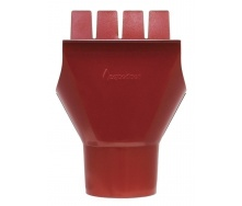 Воронка Акведук Премиум 125/87 темно-красный RAL 3009