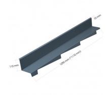 Элемент примыкания к стене Evertile Evertech G2 правый/левый SWT/R/L 1110 мм