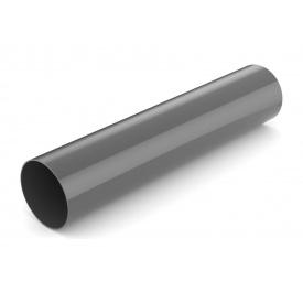 Водостічна труба Bryza 75 63 мм 3 м графіт