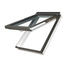 Мансардное окно FAKRO PPP-V U3 preSelect наклонно-вращательное 94x140 см