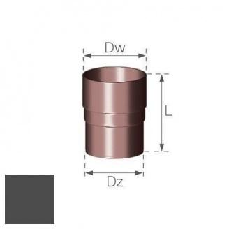 Кольцевой ниппель Gamrat 90 мм графитовый