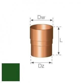 Кольцевой ниппель Gamrat 90 мм зеленый