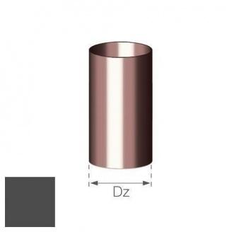 Труба Gamrat 90 мм 3 м графитовая