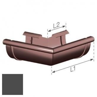 Внешний угол Gamrat 100 мм коричневый